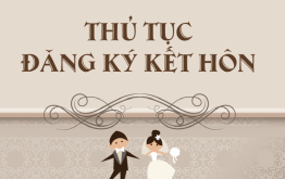 Thủ tục đăng ký kết hôn