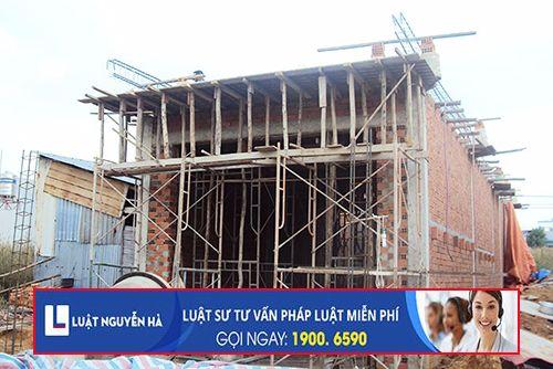 Xử phạt vi phạm hành chính với hành vi không xin giấy phép xây dựng