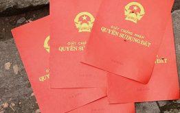 Dịch vụ làm sang tên sổ đỏ nhanh tại Hà Nội